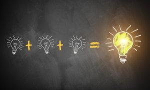 viele kleine Ideen fhren zur groen Innovation